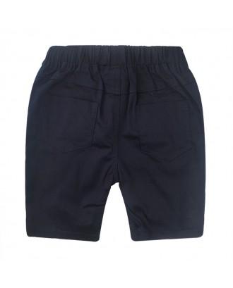 Boys Cartoon Dinosaur Pant Cotton Shorts For 2-11Y