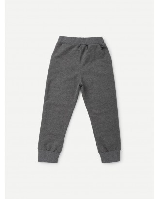 Toddler Boys Cut And Sew Panel Pants